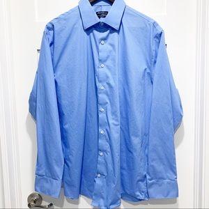 KENNETH COLE blue dress shirt